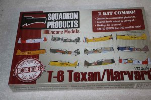 ENC72105 - Encore Models 1/72 T-6 Texan/Harvard (Academy kit)