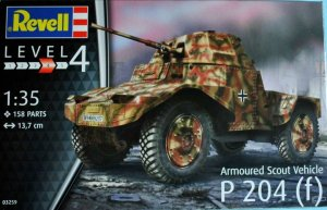 REV03259 - Revell 1/35 Armoured Scout Vehicle P 204 (f)