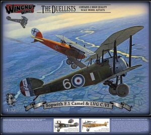WNW32803 - Wingnut Wings 1/32 Sopwith F.1 Camel & LVG C.VI