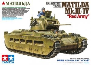 "TAM35355 - Tamiya 1/35 MATILDA MK.III/IV ""RED ARMY"" NEW PARTS 2017"