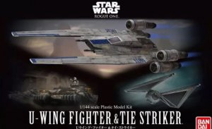 BAN0212184 - Bandai 1/144 Star Wars: U-Wing and TIE Striker - Rogue One