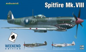 EDU84139 - Eduard Models 1/48 Spitfire Mk.VIII [Weekend Edition]