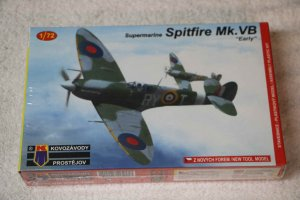 KPM0058 - KP 1/72 SPITFIRE MK.VB EARLY