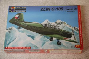 KPM0022 - KP 1/72 ZLIN C-105 LATE VERSION