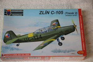KPM0021 - KP 1/72 ZLIN C-105 EARLY VERSION