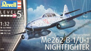 REV04995 - Revell 1/32 Messerschmitt Me262 B-1/U-1 Nightfighter