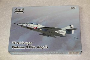 SWO72101 - Sword 1/72 TF-9J Cougar Vietnam & Blue Angles