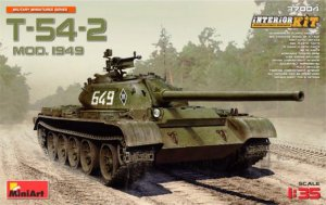 MIA37004 - Miniart 1/35 T-54-2 Mod. 1949 - Soviet Medium Tank - Interior Kit