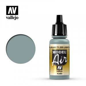 VLJ71255 - Vallejo Type - Model Air: Light Blue - 17mL Bottle - Acrylic / Water Based