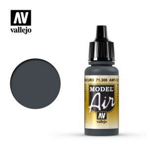 VLJ71308 - Vallejo Type - Model Air: AMT-12 Dark Grey - 17mL Bottle - Acrylic / Water Based