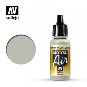 VLJ71296 - Vallejo Type - Model Air: USAAF Light Grey - 17mL Bottle - Acrylic / Water Based