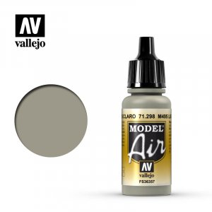 VLJ71298 - Vallejo Type - Model Air: M495 Light Grey - 17mL Bottle - Acrylic / Water Based