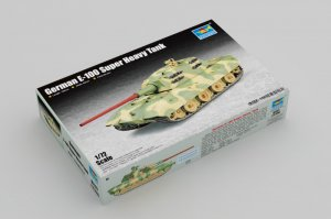TRP07121 - Trumpeter 1/72 German E-100 Super Heavy Tank