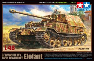 TAM32589 - Tamiya 1/48 ELEFANT TANK DESTROYER