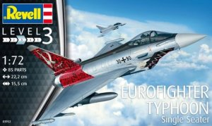 REV03952 - Revell 1/72 Eurofighter Typhoon Single Seater