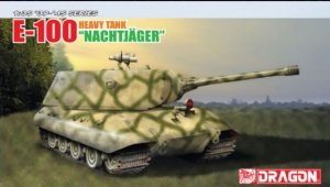 DRA6011X - Dragon 1/35 E-100 Heavy Tank 'NACHTJAGER' - '39-'45 Series