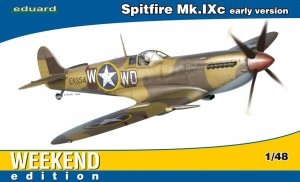 EDU84137 - Eduard Models 1/48 Spitfire Mk.IXc early version [Weekend Edition]