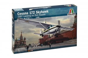 ITA2764 - Italeri 1/48 Cessna 172 Skyhawk - Landing on Red Square 1987 (Decals for 3 Versions)