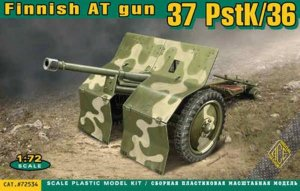 ACE72534 - ACE 1/72 Finnish AT Gun 37 PstK/36