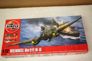 AIR07007 - Airfix 1/72 Heinkel He111 H-6 NEW TOOL 2016