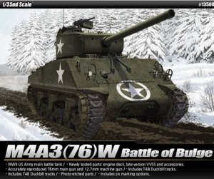 ACA13500 - Academy 1/35 M4A3(76)W - Battle of the Bulge