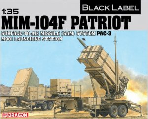 DRA3563 - Dragon 1/35 MIM-104F Patriot - Surface-To-Air Missle (SAM) System Pac-3 M901 Launching Station - Black Label