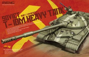 MENTS018 - Meng 1/35 T-10M HEAVY TANK