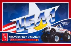 AMT740 - AMT 1/25 USA-1 MONSTER TRUCK SPECIAL EDITION TIN