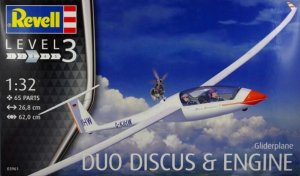 REV03961 - Revell 1/32 Gliderplane Duo Discus & Engine