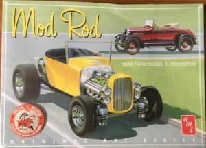 "AMT1000 - AMT 1/25 1929 MODEL A ""MOD ROD"" (2 KITS/BOX W/POSTER)"