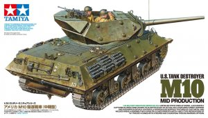TAM35350 - Tamiya 1/35 M10 TANK DESTROYER NEW TOOL 2016