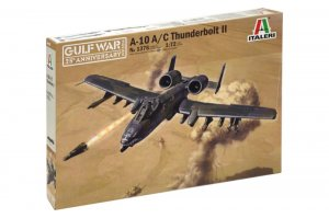 ITA1376 - Italeri 1/72 A-10A/C Thunderbolt II - Gulf War 25th Anniversary (Decals for 4 Versions)