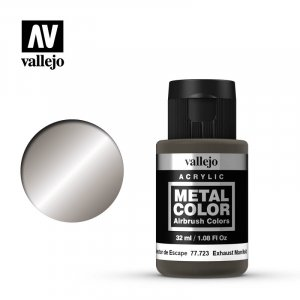 VLJ77723 - Vallejo Type - Metal Colour: Exhaust Manifold - 32mL Bottle - Acrylic / Water Based
