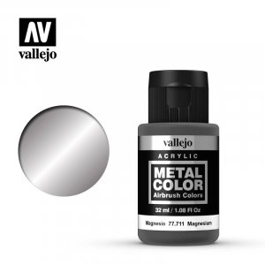 VLJ77711 - Vallejo Type - Metal Colour: Magnesium - 32mL Bottle - Acrylic / Water Based