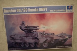 TRP05548 - Trumpeter 1/35 OBJECT 199 RAMKA BMPT