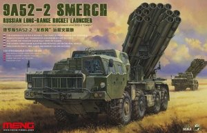 MENSS009 - Meng 1/35 9A52-2 SMERCH ROCKET LAUNCHER