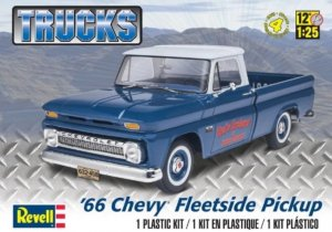 REV85-7225 - Revell 1/25 1966 Chevy Fleetside Pickup - Trucks Series