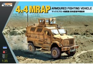 KIN61011 - Kinetic 1/35 4x4 MRAP Armoured Fighting Vehicle
