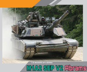 DRA3556 - Dragon 1/35 M1A2 SEP V2 Abrams
