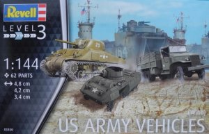 REV03350 - Revell 1/144 US Army Vehicles ( WWII )