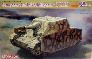 DRA6819 - Dragon 1/35 Sturmpanzer Ausf.I as command tank (Modification chassis Pz.Kpfw.IV Ausf.G) - '39-'45 Series