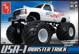 AMT632 - AMT 1/25 USA-1 MONSTER TRUCK