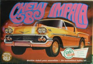 AMT946 - AMT 1/25 1958 CHEVY IMPALA - GOLD