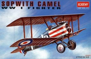 ACA12447 - Academy 1/72 Sopwith Camel - WW I Fighter