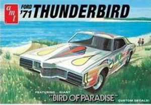 "AMT920 - AMT 1/25 1971 FORD THUNDERBIRD ""BIRD OF PARADISE"""