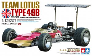 TAM12053 - Tamiya 1/12 TEAM LOTUS TYPE 49B 1968 w/PHOTO-ETCHED PARTS