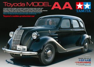 TAM24339 - Tamiya 1/24 Toyoda MODEL AA (TOYOTA'S MAIDEN PRODUCTION CAR)