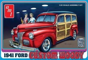 AMT906 - AMT 1/25 1941 FORD CUSTOM WOODY