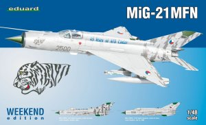 EDU84128 - Eduard Models 1/48 MIG-21MFN WEEKEND
