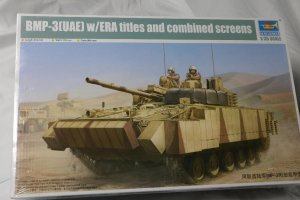 TRP01532 - Trumpeter 1/35 BMP-3 (UAE) w/ERA TILES AND COMBINED SCREENS